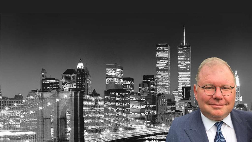 Dennis McLaughlin New York Skyline